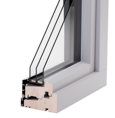 SW14 aluclad window (3-glazing)
