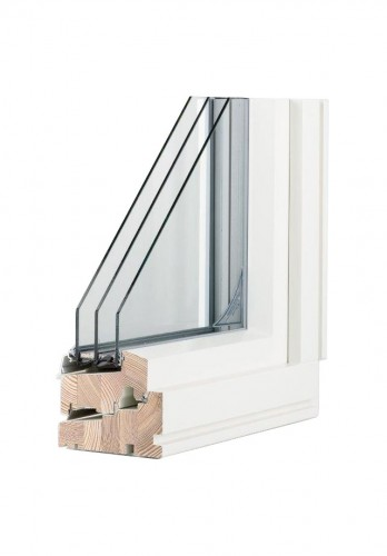 SW14 wooden window (3-glazing)